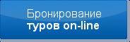 Бронирование туров on-line