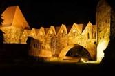 Замок Крестоносцев ночью. Торунь