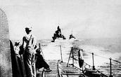 Дивизион польских эсминцев направляется в Великобританию