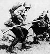 Польская пехота в атаке