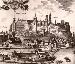 Краков в 16-ом столетии