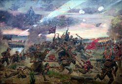 Картина Ежи Коссака «Варшавская битва»