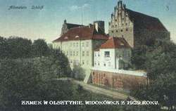 Ольштын, открытка 1929 года