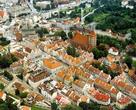 Ольштын, Старый город с высоты птичьего полета