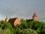 Ольштын, Замок Варминьского капитула