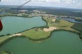 Ольштын, городские озера