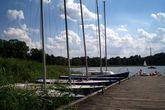 Ольштын, пристань для яхт