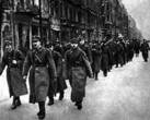 1-я польская армия на улицах освобожденной Варшавы