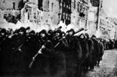Войско Польское вступает в Варшаву (январь 1945 г.)