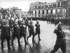 Поляки участвуют в параде Победы на Красной площади в 1945 году