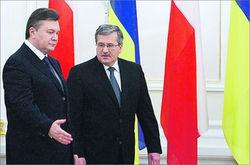 Коморовский посоветовал Украине обратить внимание на ВВП Польши