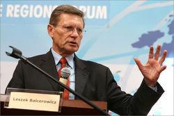Польский экономист, один из авторов рыночных реформ в Польше Лешек Бальцерович
