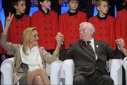 Шерон Стоун вручили в Варшаве премию саммита мира