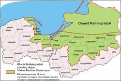 Польские воеводства бьются за калининградских туристов